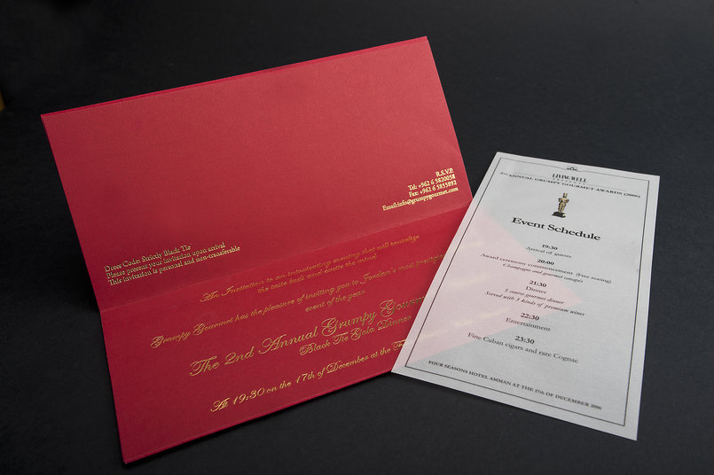 Wedding Cards And Invitation Cards By Jordanian Printing
