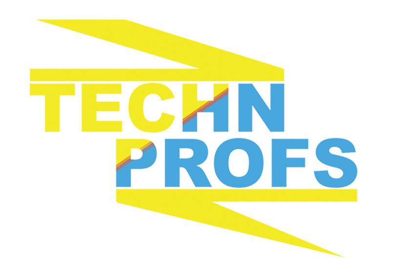 شعار شركة تيك بروفس | للتقنية والشبكات