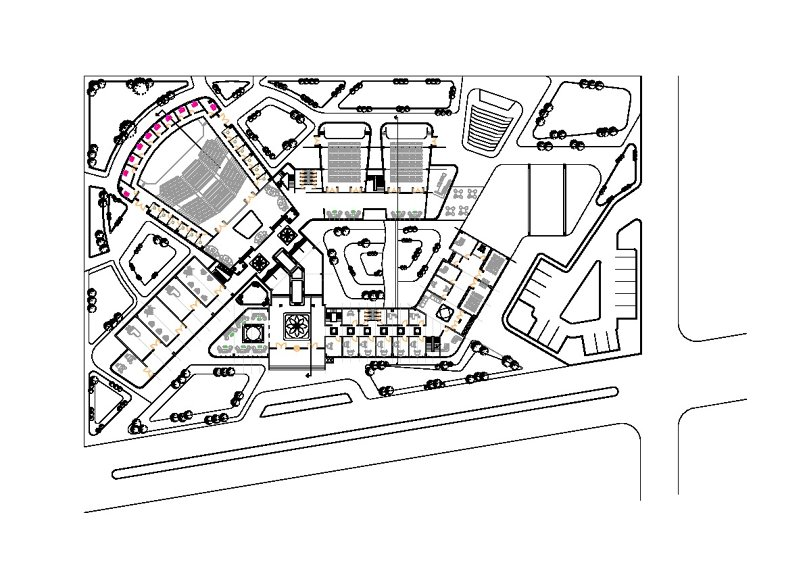 complex theatre and art center