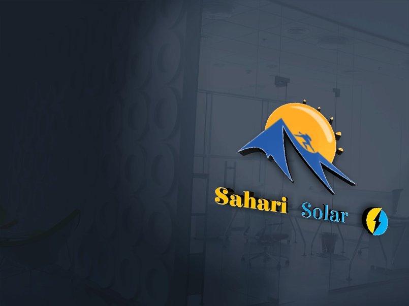 Sahari solar company logo