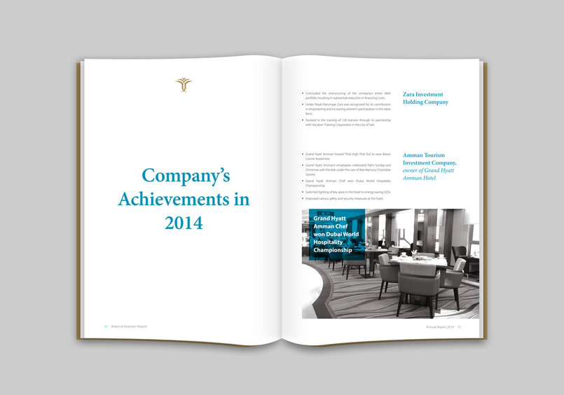 Zara Investment Holding 2015 Annual Report