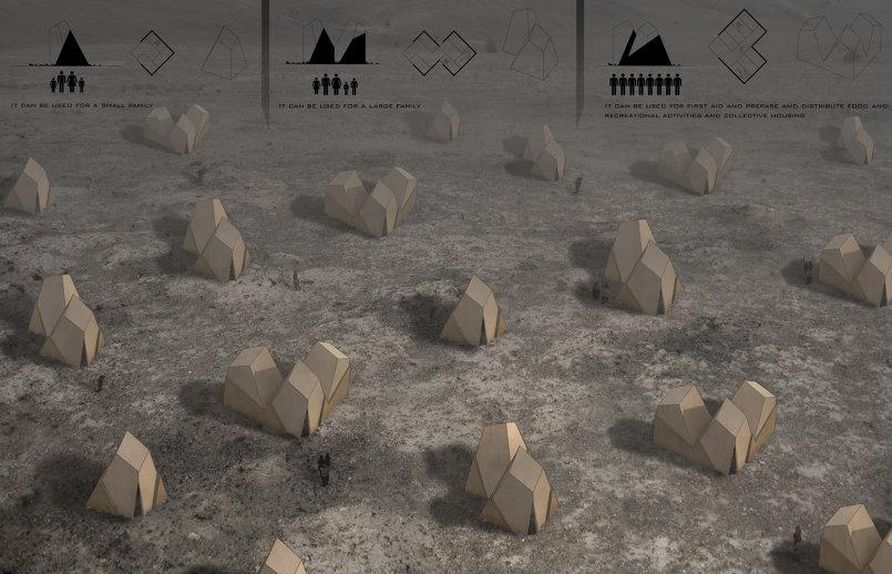 مسابقة لتصميم خيمة للاجئين