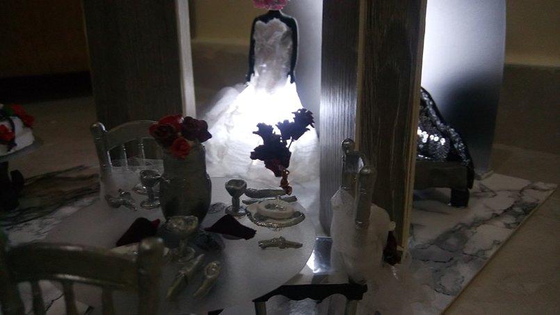 Exhibition design for wedding(Batool for weddings)