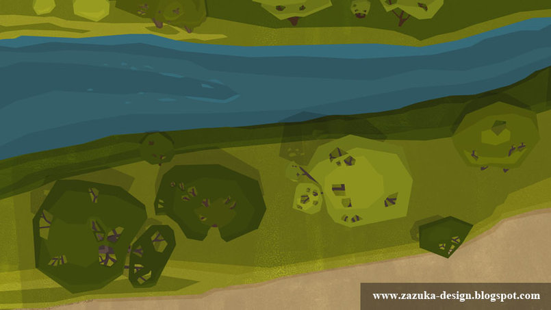 Background Design for Animation Film