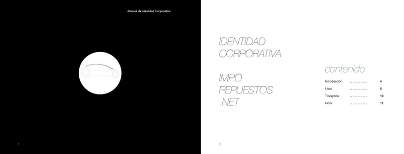 Pages of the corporate manual