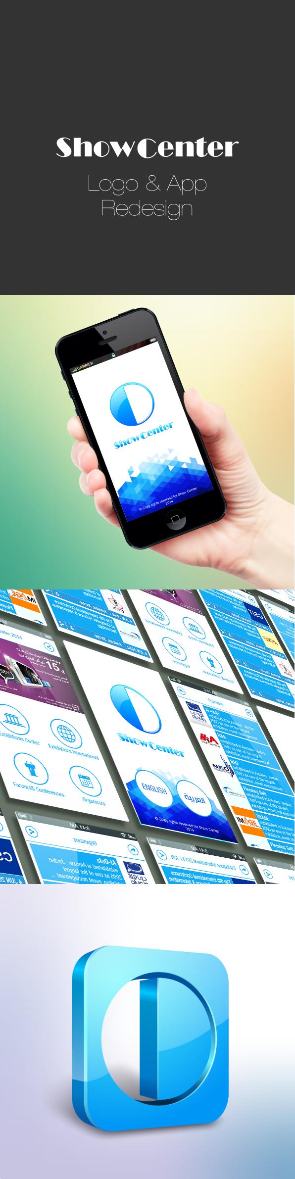 Show Center App Re-Design