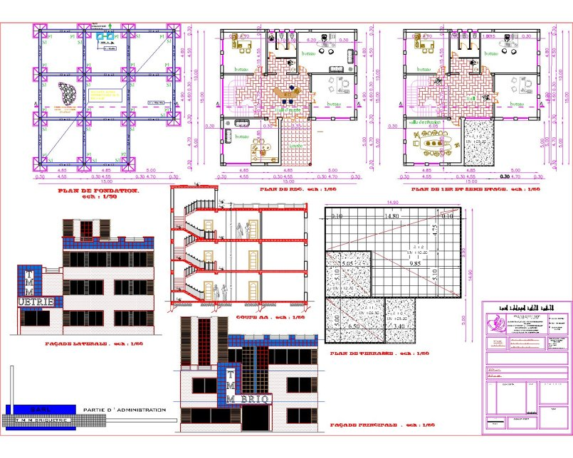 نموذج ادارة لمصنع الاجور من انجاز المكتب