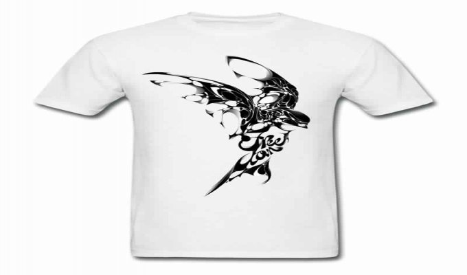 تصميم الألبسة بالشعارات التي تريدها فقط ب 5$