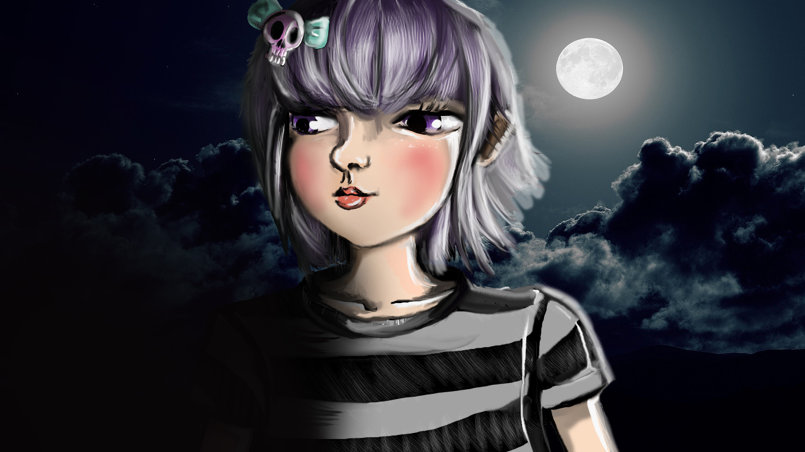 my drawing on photoshop