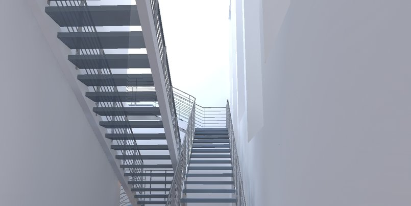 Gallery Project Rendering - Kerkythea