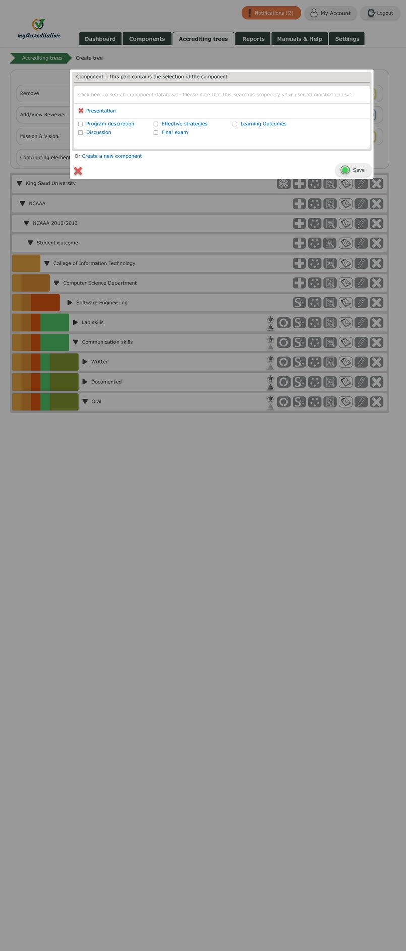 2 - Webdesign example