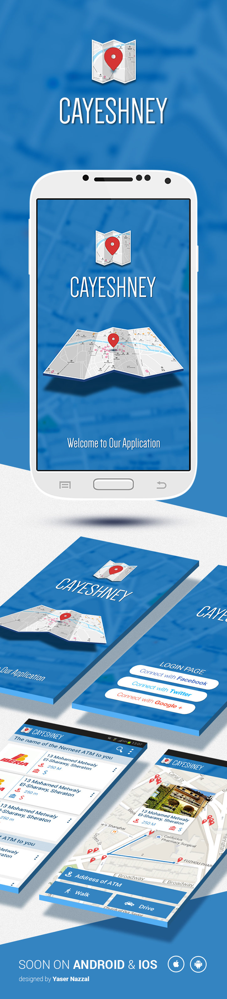 App Cayeshney Design