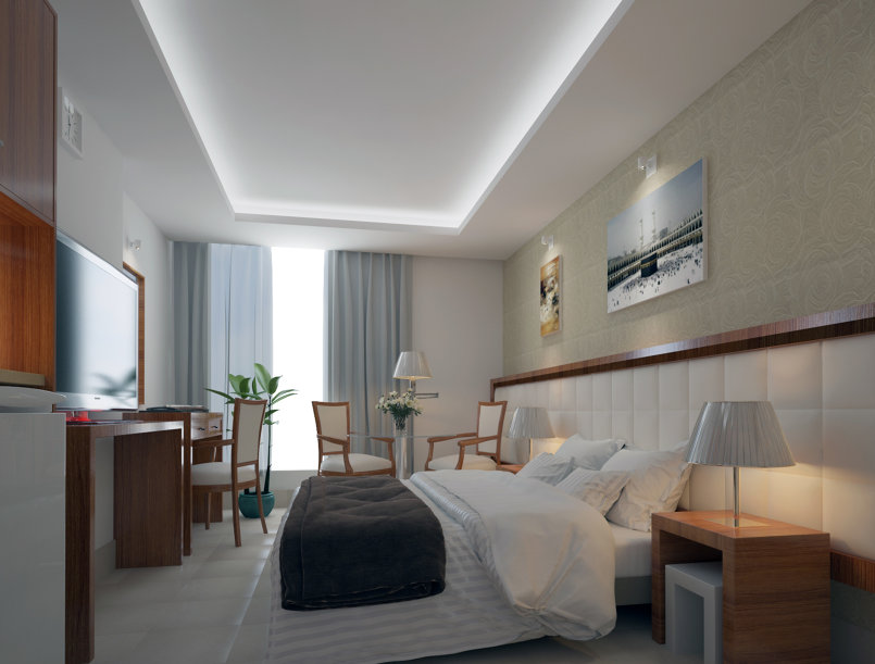 غرفة فندقية