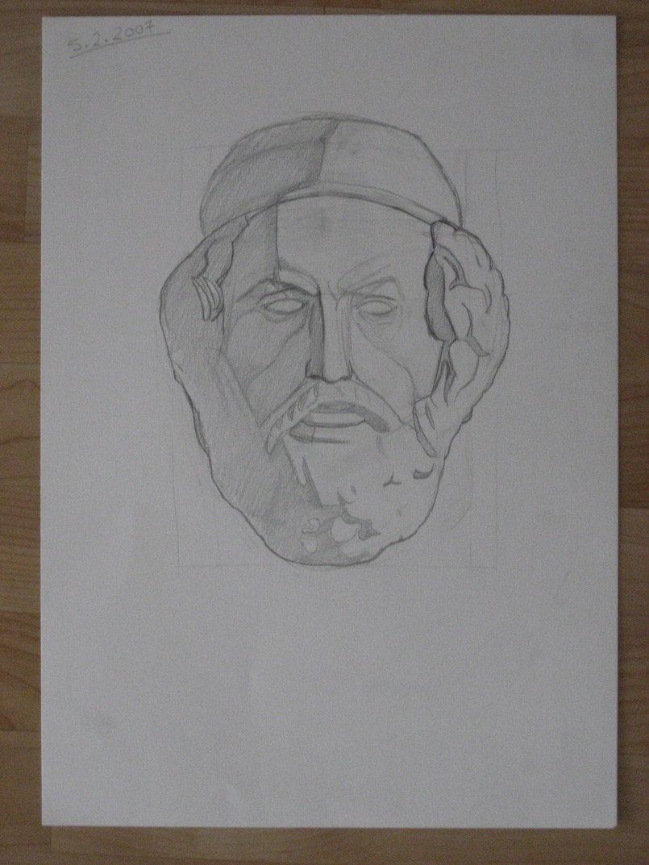 Aristotle - 29.7 x 42cm