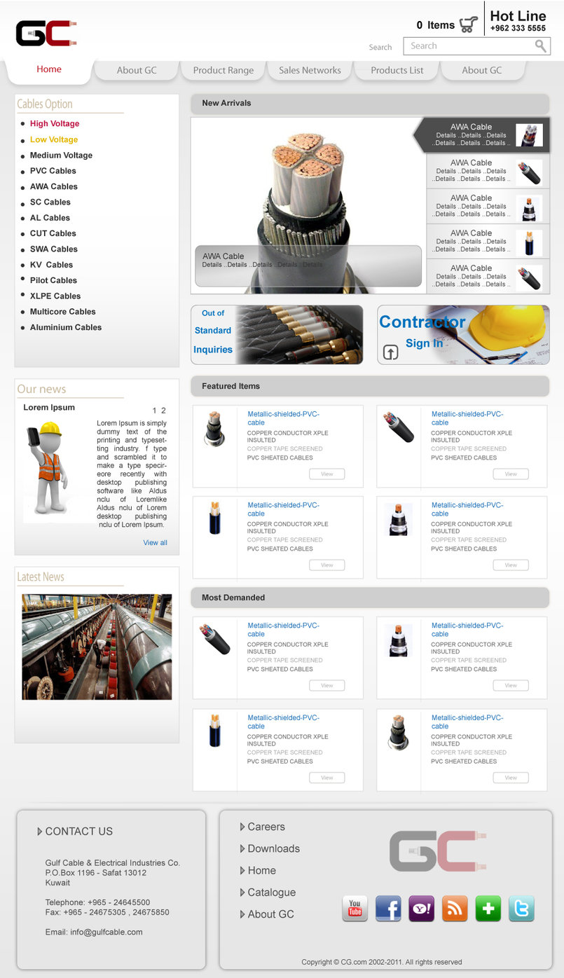 2 - Webdesign examples