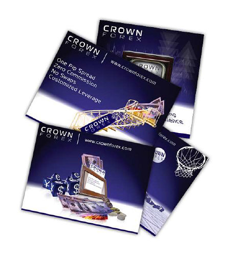 Crown Forex Flyers Design
