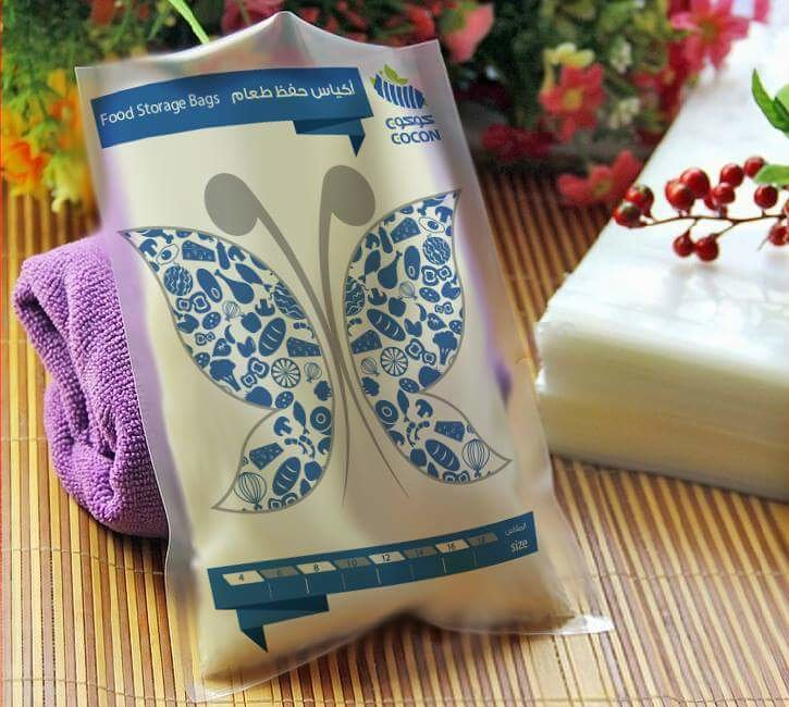 Plastic bag 3 color's