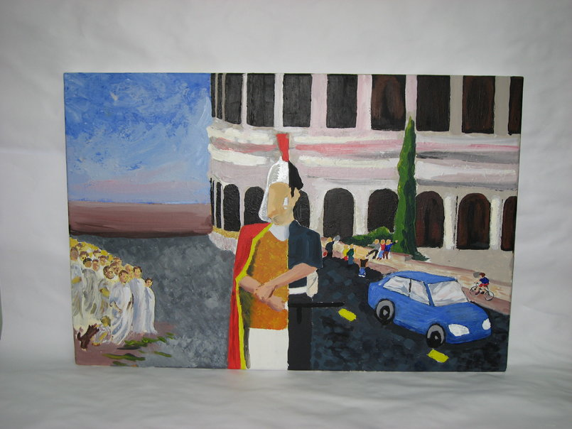 Legacy of the Romans - 60 x 40cm