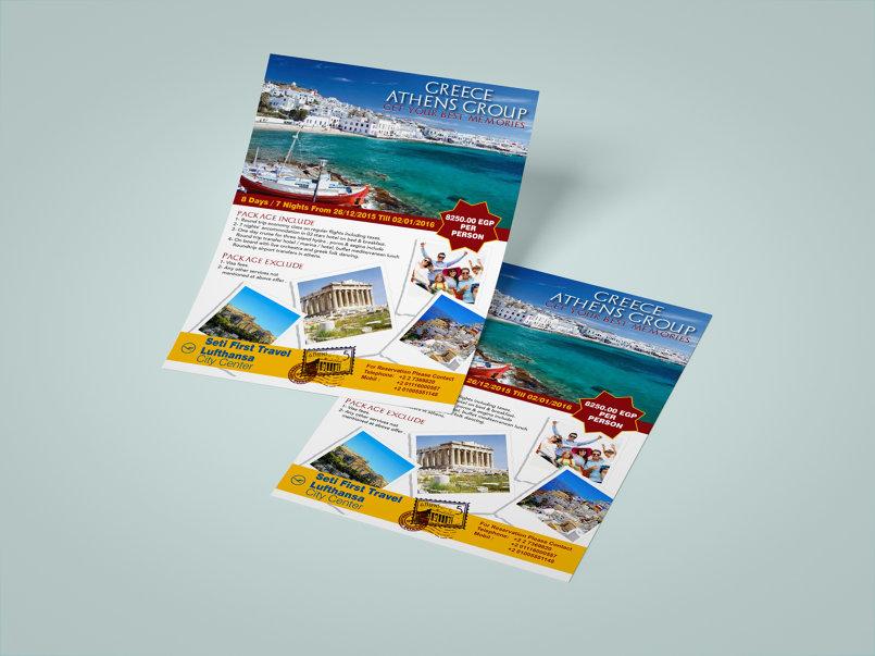 tourism flyers