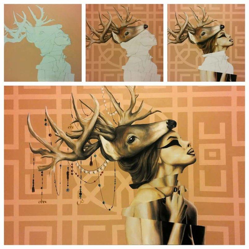 acrylic on canvas 120x85cm