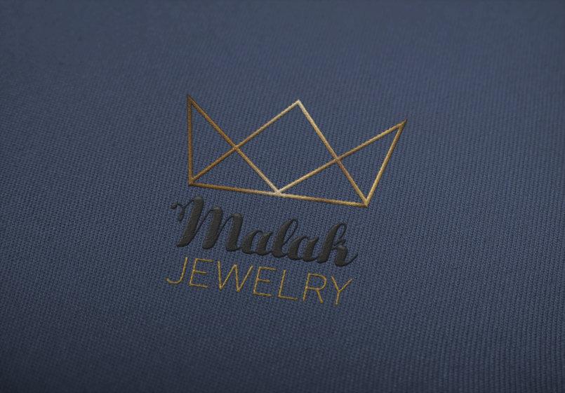 تصميم براند لشركه ملك المجوهرات