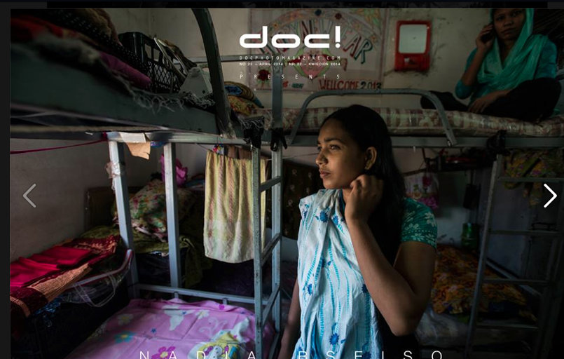 Garment workers in Jordan - DOC! MAGAZINE