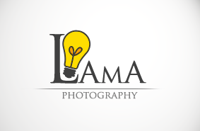 logo for lama photography<br> شعار للمصورة لما