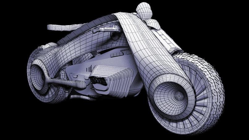 3D Moto BMW