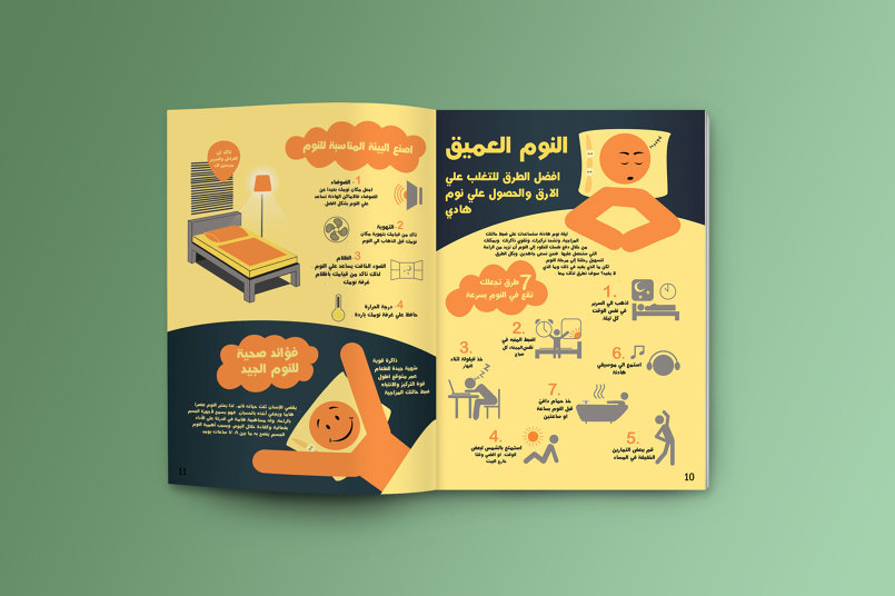 infographic page design