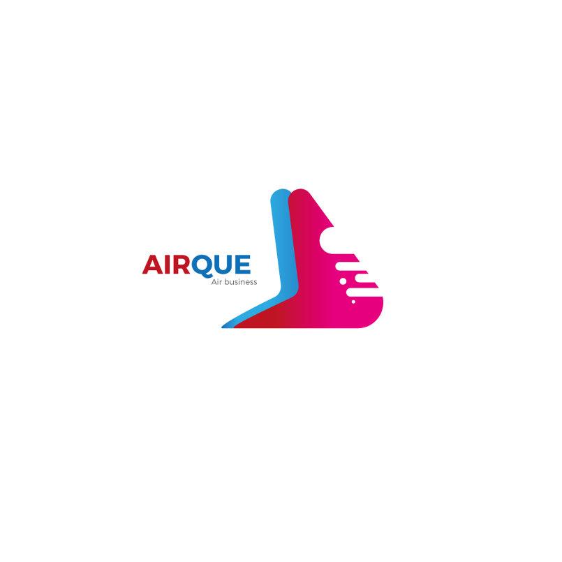 لوغو للشركة الطيران AirQue
