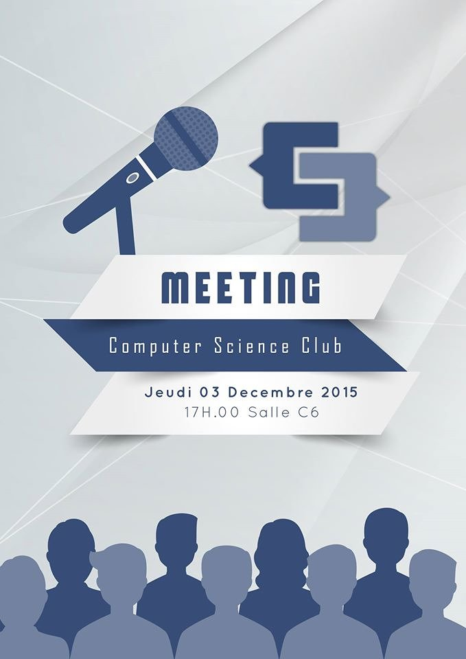 Club Meeting Flyer