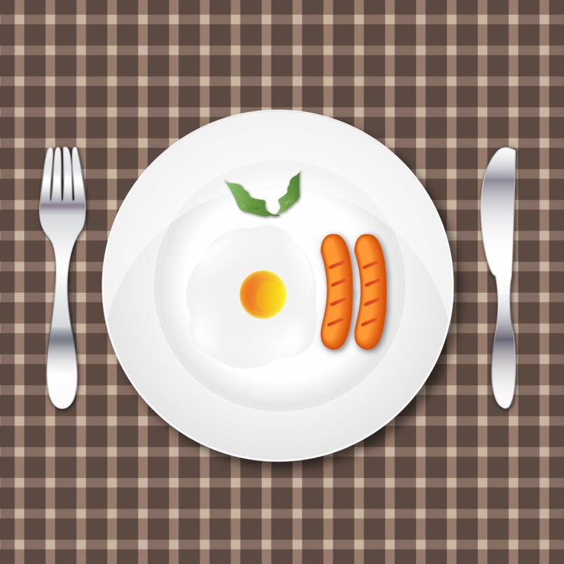 Breakfast by illustrator
