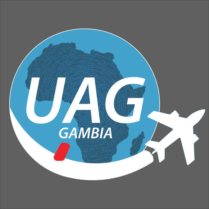 UAG Gambia Logo Design