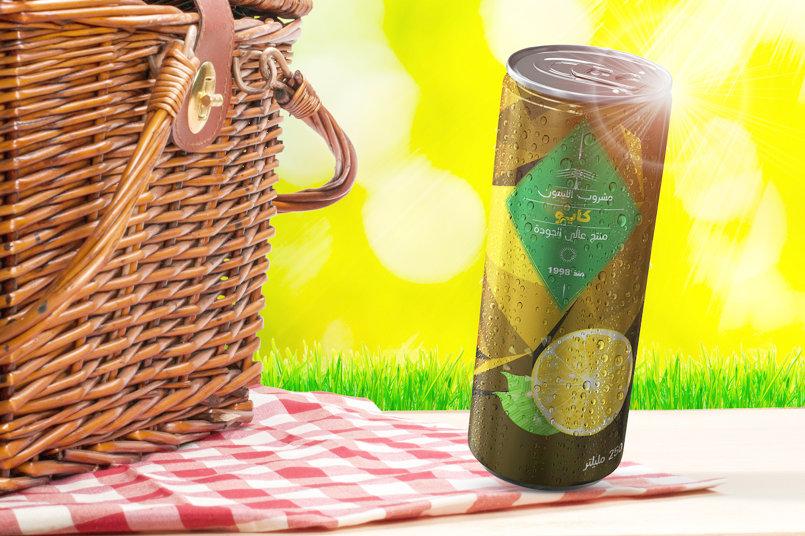 صورة لغلاف عبوة المنتج - شراب الليمون