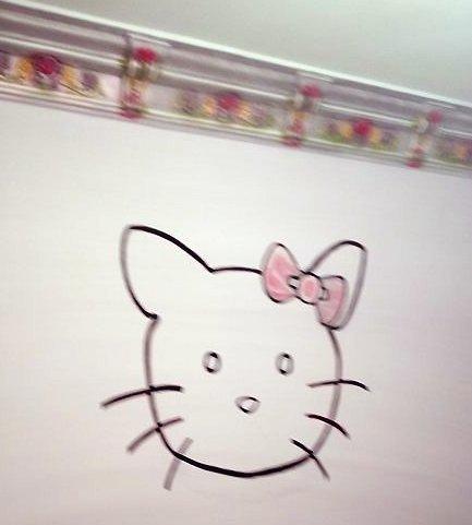 عمل رسومات علي حوائط غرفة اطفال