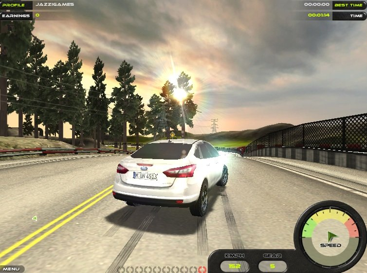 Ford Focus 2012 - Racing game