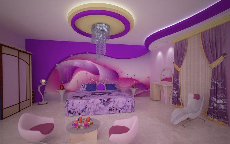 غرفة البنفسج