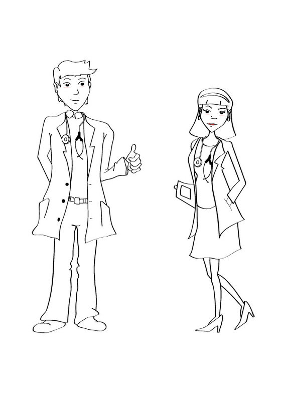2d Sketches - Character Design