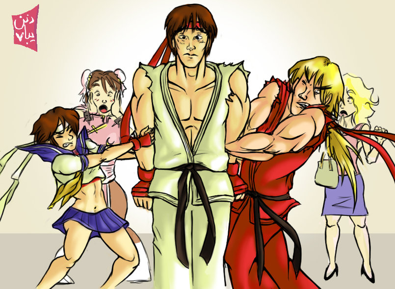 Street Fighter Spoofs