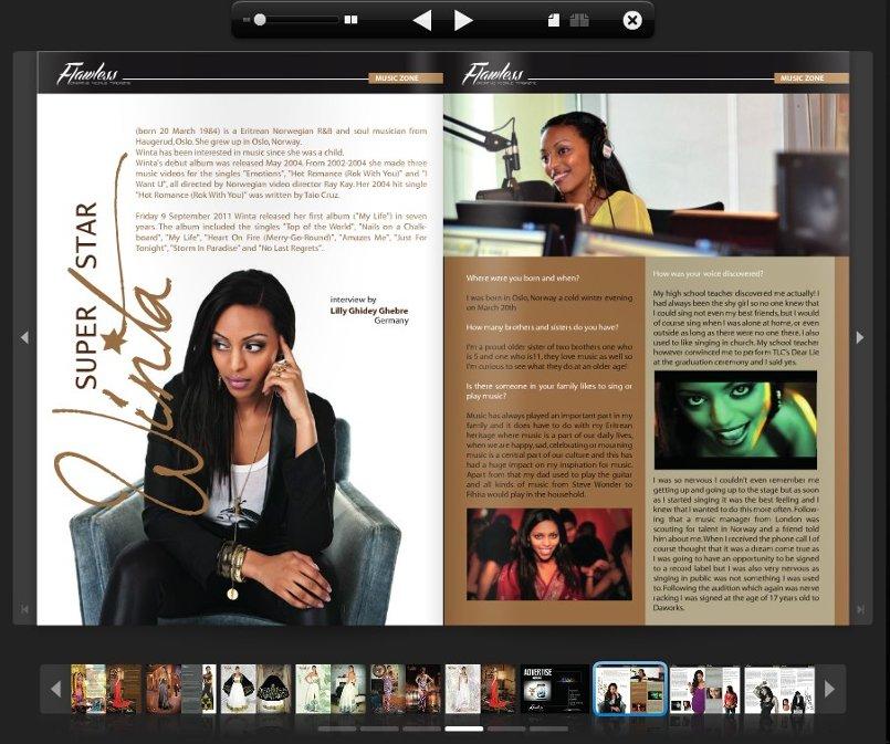 تصاميم من مجلة  Flawless & Pro. Magazine