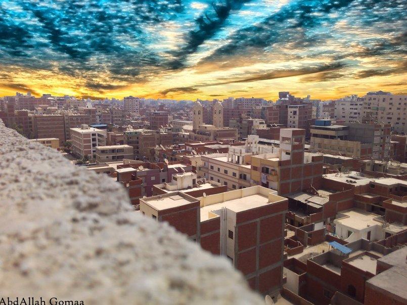 صورة لمصر من مكان عالي