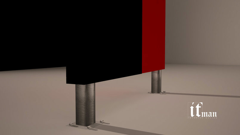 3d cladding Box Design design
