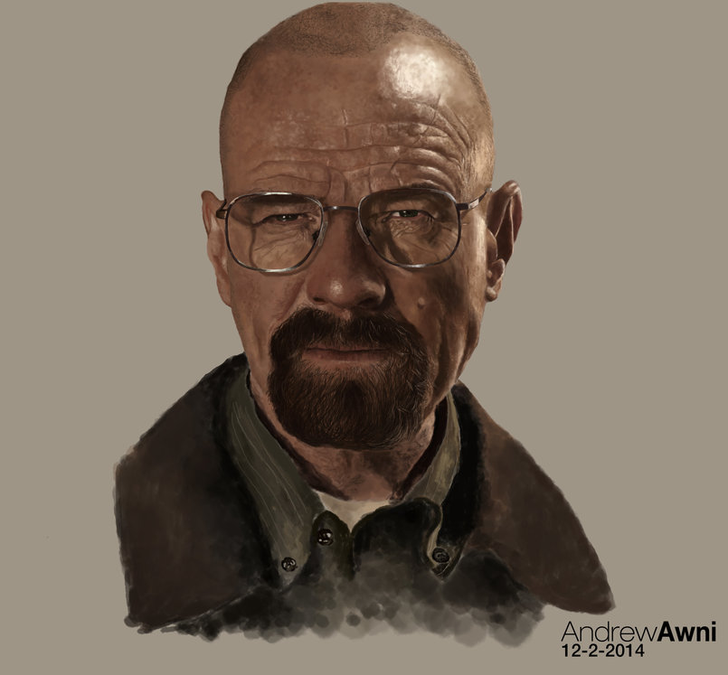 Breaking Bad | Digital paint