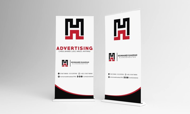 desgin panner, card, logo , menu ,anything abut advertising