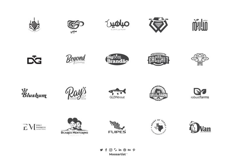 100 شعار في العام 2020 من تصميمي