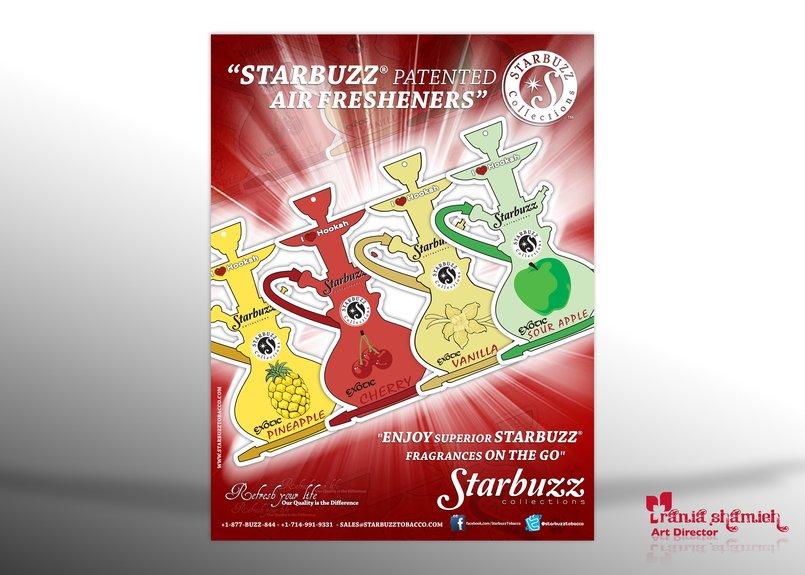 StarBuzz Airfares Ad's