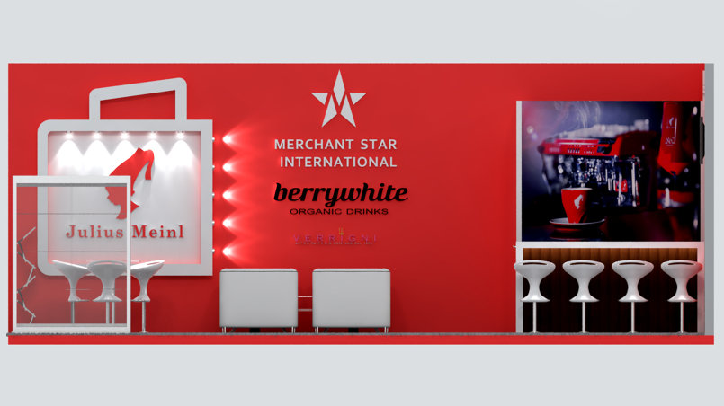 Merchant Star Exhibition stand
