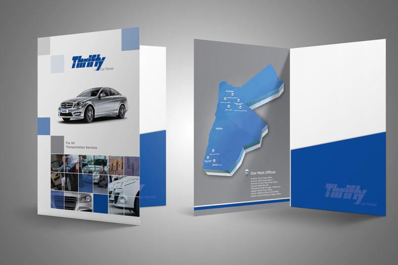 Folder sales kit