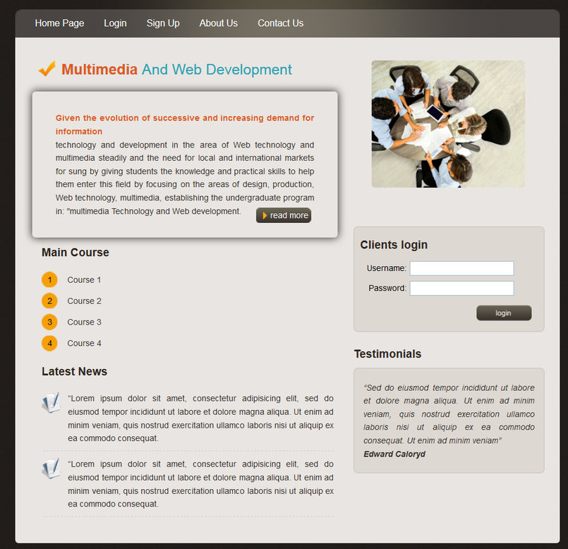 MULTIMEDIA AND WEB DEVELOPMENT