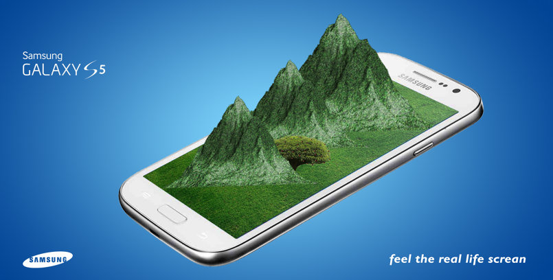 Samsung fantasy ad